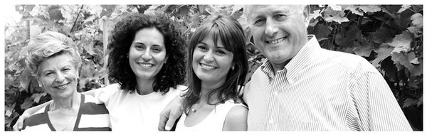 Enrico Scavino together with the daughters Enrica and Elisa, fourth generation, run the family Estate.